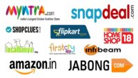 Top 5 E-commerce Websites in India