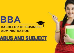 BBA Syllabus: Subjects & Area of Study