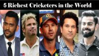 TOP 5 RICHEST PLAYERS IN CRICKET
